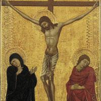 Kruisiging met Maria en de discipel Johannes