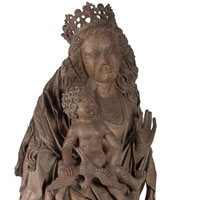 Maria op de maansikkel