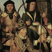 Een groep van achttien heilige martelaren