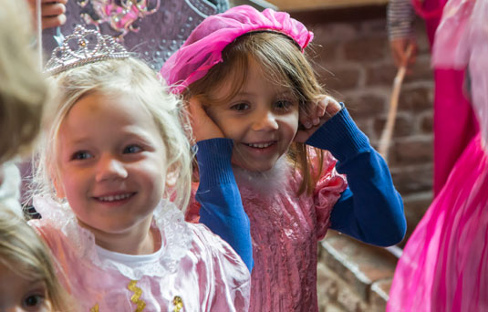 Kinderfeestjes Kasteel Huis Bergh
