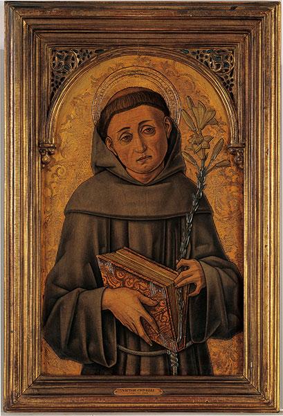 De heilige Antonius van Padua