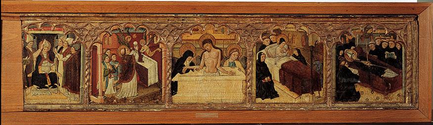 Taferelen uit het leven van de heilige Martinus