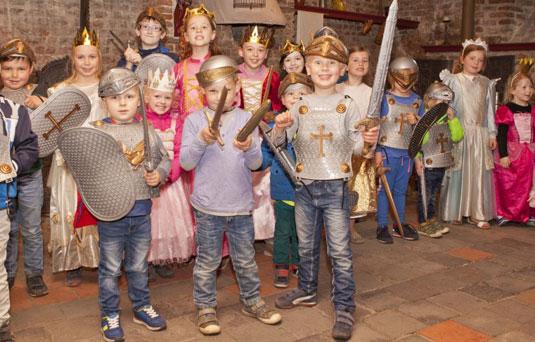 Welkom in de Middeleeuwen ridders en prinsessen