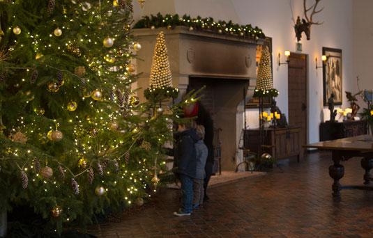 Kerstmis bezoek