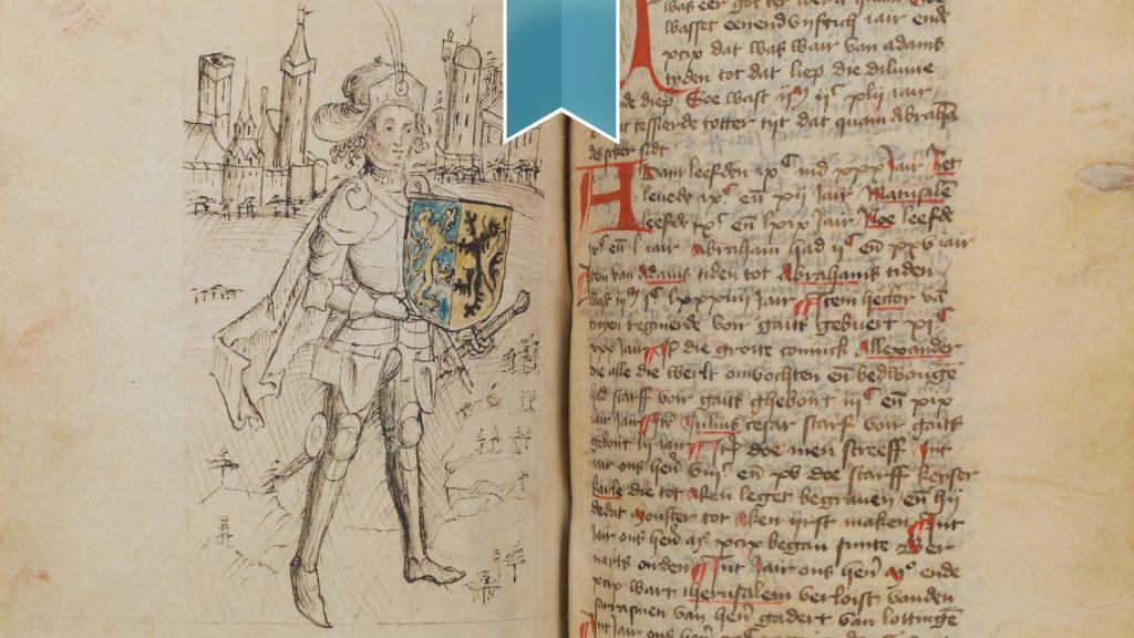 Huis Bergh verwerft zeldzaam manuscript